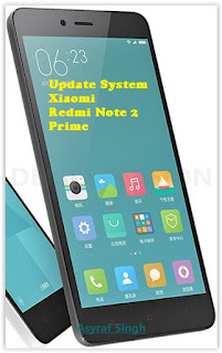 redmi%2Bnote Guide To Manually Update System / ROM MIUI On Xiaomi Redmi Note 2 Prime. Root