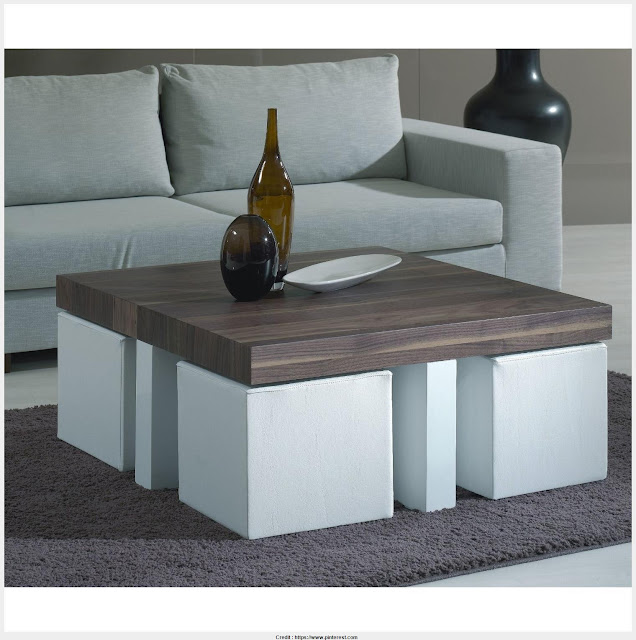 Cool Coffee Table With Stools Picture
