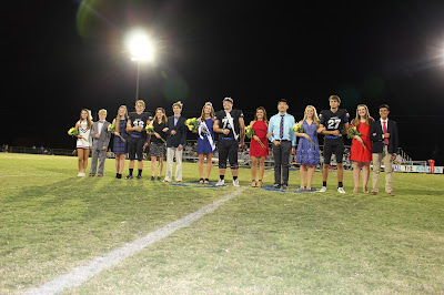 Montgomery Catholic Crowns 2016 Homecoming Queen and King 1