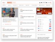 Financial List - Blogging WordPress Theme