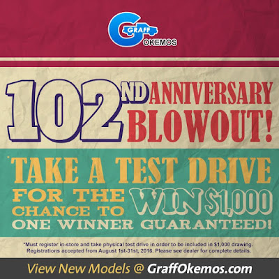 102nd Anniversary Blowout at Graff Chevrolet Okemos