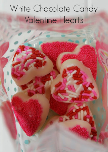 White Chocolate Valentine Hearts by Views from the Ville