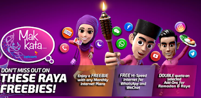 Celcom Xpax Free High Speed Internet for WhatsApp & WeChat
