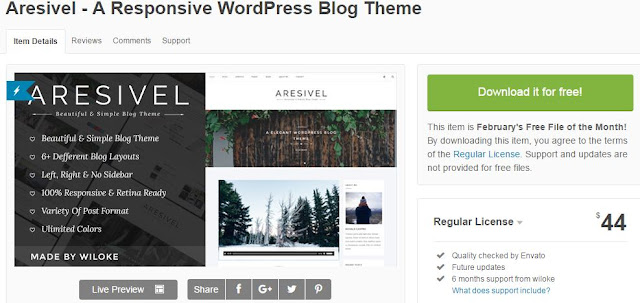 Downloading Free Themeforest Themes