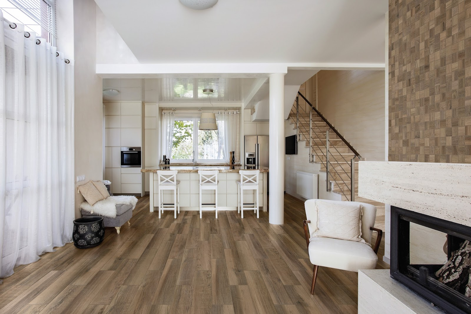 ISC Surfaces Florida Tiles Kerala Brings An Inspiring Wood Look To Any Room