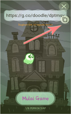 "Cara Memainkan Game Multiplayer Google Doodle ""The Great Ghoul Duel"""