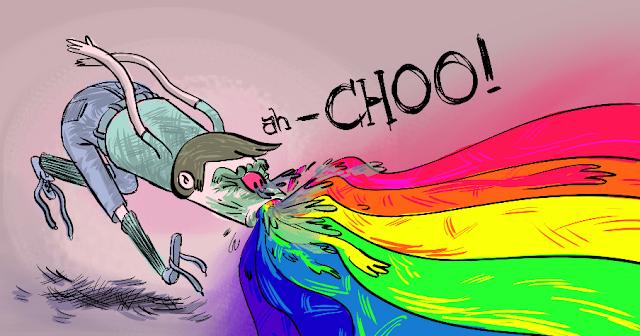 Rainbow Sneeze