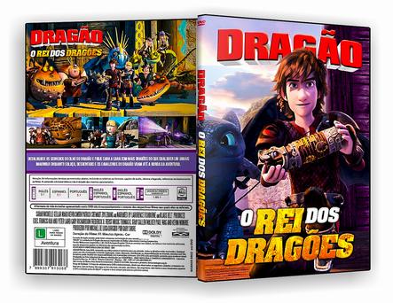 CAPA DVD – Dragões O Rei Dos Dragões -ISO