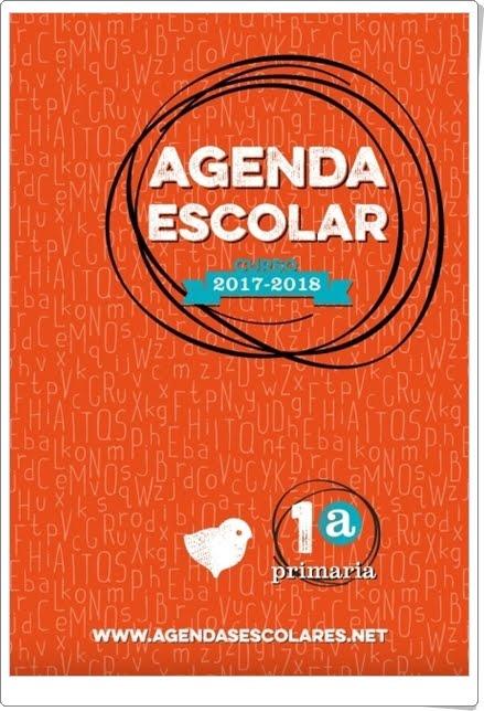 """""""Agenda Escolar 2017-2018 de Educación Primaria"""""""