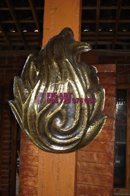 Lampu Tempel Tembaga Kuningan Minimalis