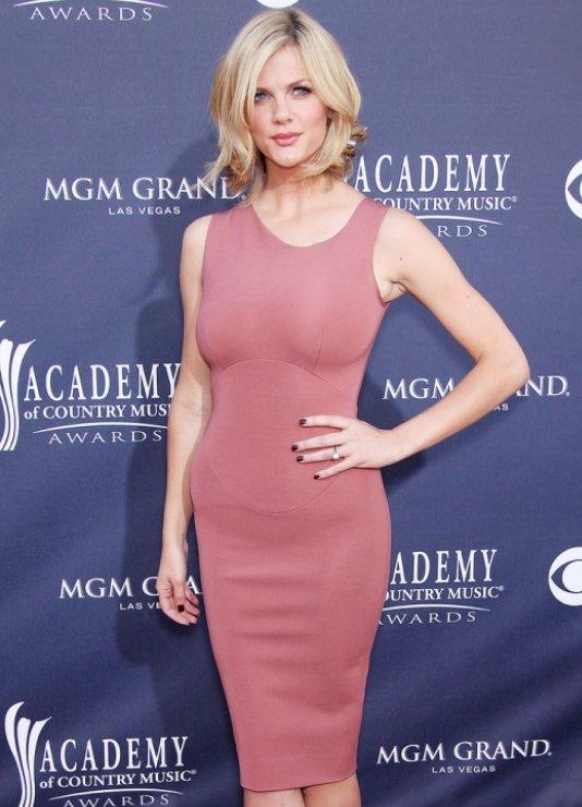 Brooklyn Decker: 2011 ACM Awards Victoria Beckham Dress