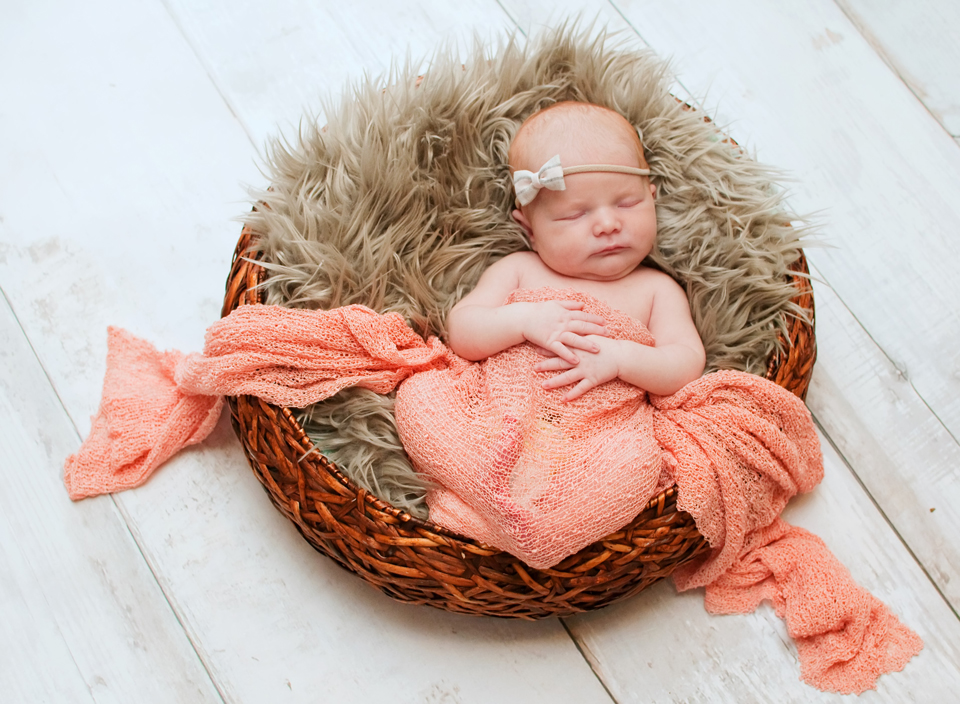 Beautiful newborn baby girl mckinney tx newborn photographer