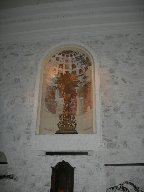 Interior da Basílica do Santíssimo Sacramento - Colonia del Sacramento - Uruguai