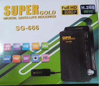 مواصفات و سعر رسيفر Super Gold Sg 666