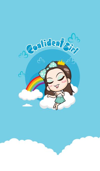 Cupcakes - confident girl..