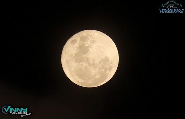 Lua Cheia Fria apareceu no Natal pela primeira vez desde 1977