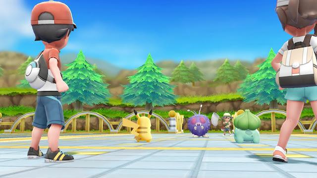 Pokémon Let's Go contará con revancha de entrenadores