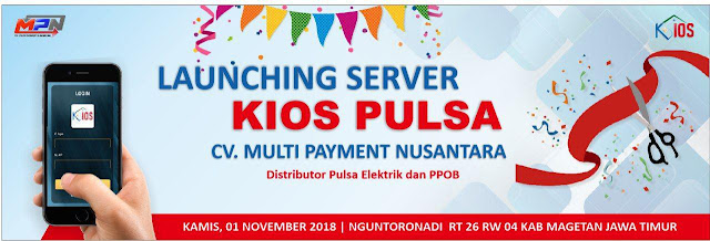 Server Kios Pulsa Open Pendaftaran MD 01 November 2018