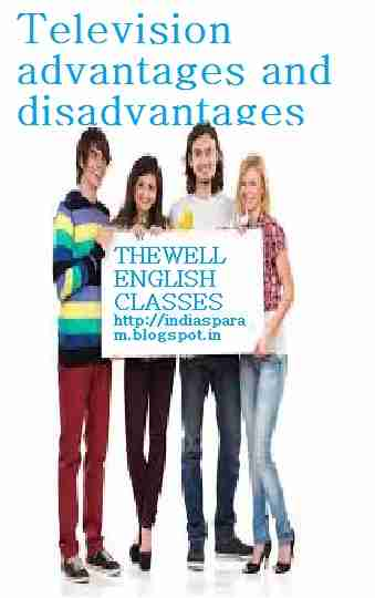 write an essay on television advantages and disadvantages