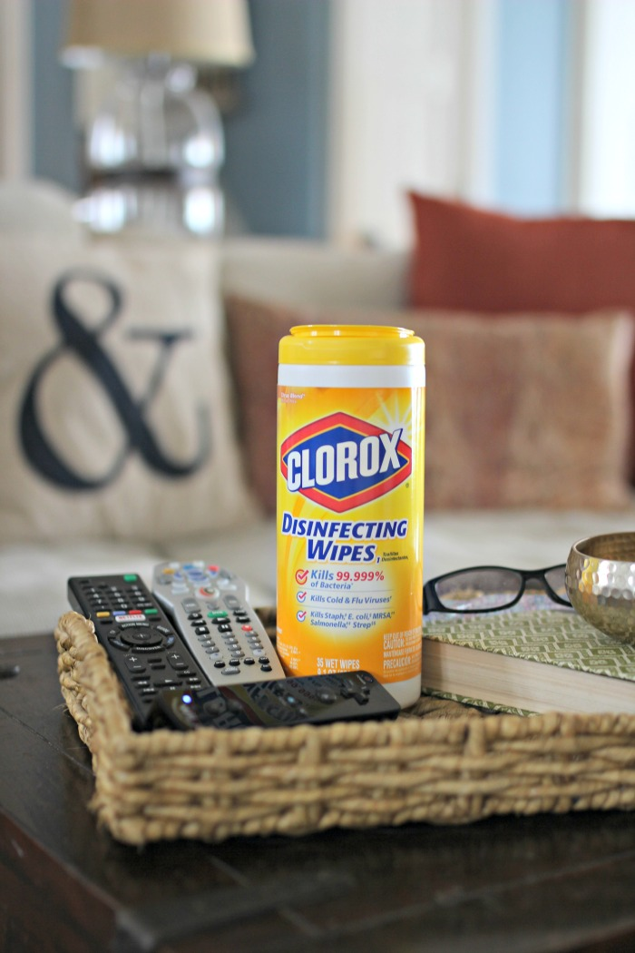 Clorox Disinfecting Wipes - www.goldenboysandme.com