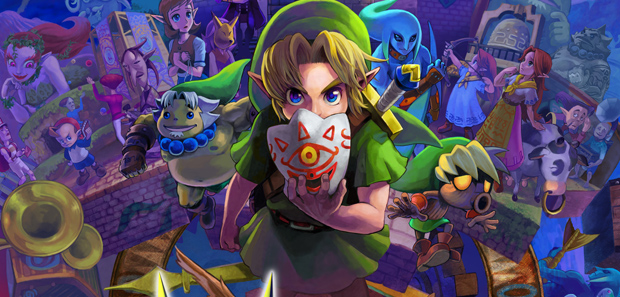 30 Minutes of Majora's Mask 3D Footage
