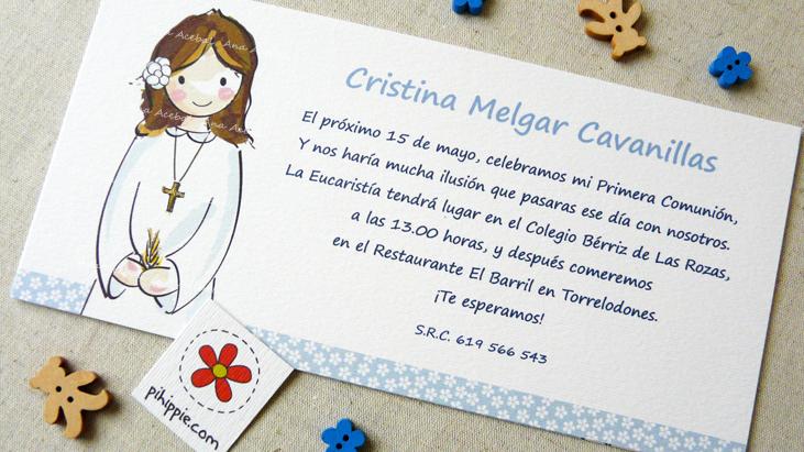 invitacion comunion
