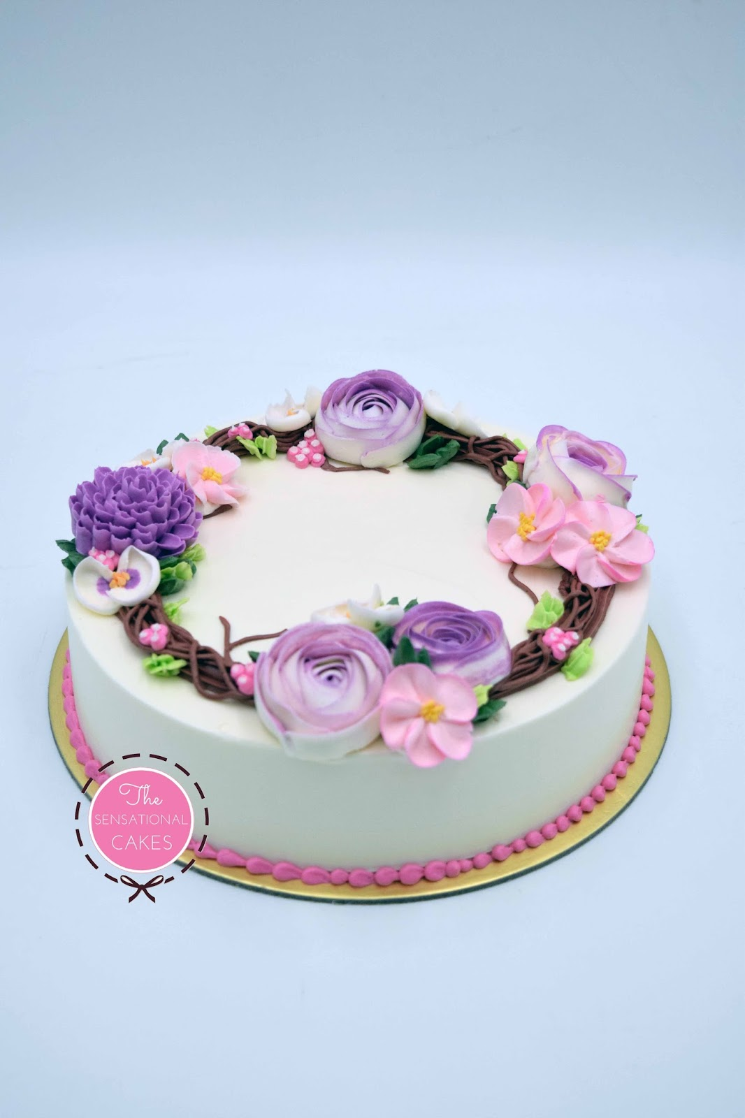 The Sensational Cakes Gourmet Cream Cake Singapore Belle Fluer