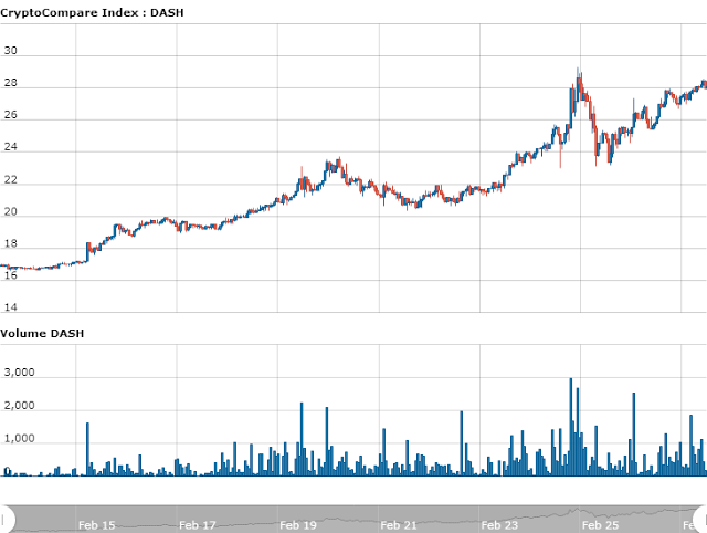Dash đã tăng giá gấp hơn 3 lần trong chưa đầy 3 tháng (anh 2)