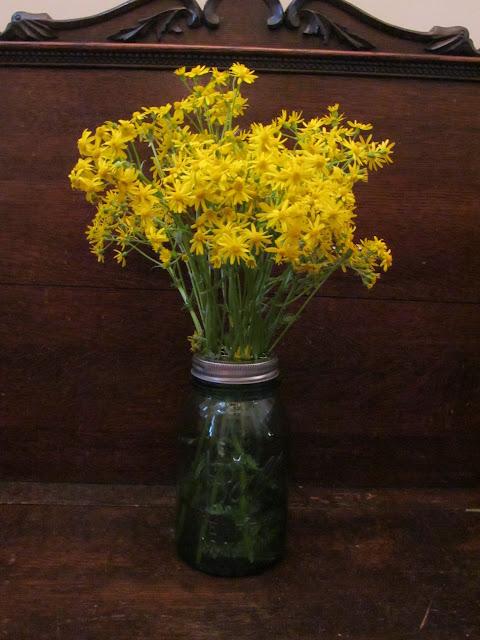 Ll farm how to keep flowers upright in a mason jar - Stemmed mason jars ...