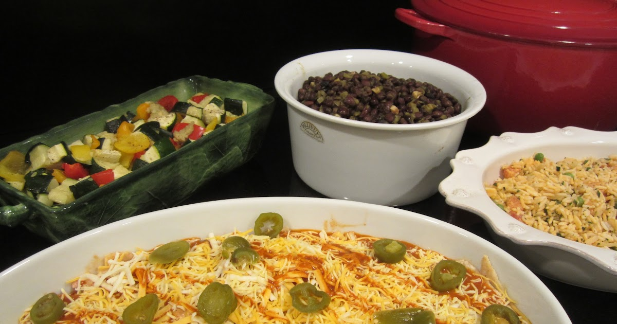 Make Ahead Mexican Party Food