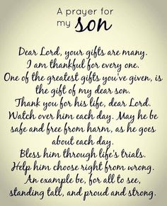 Happy Birthday wishes quotes for son and:dear lord, your gifts are many