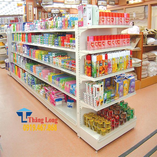 Lắp đặt giá kệ bày hàng siêu thị tại Tp Vinh Nghệ An