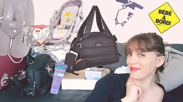 bébé arrive, grossesse, trousse de survie, kit de survie, enceinte, little band, lansinoh, malayette, nuk, sauthon, tineo, tigex, youtubeuse famille, video