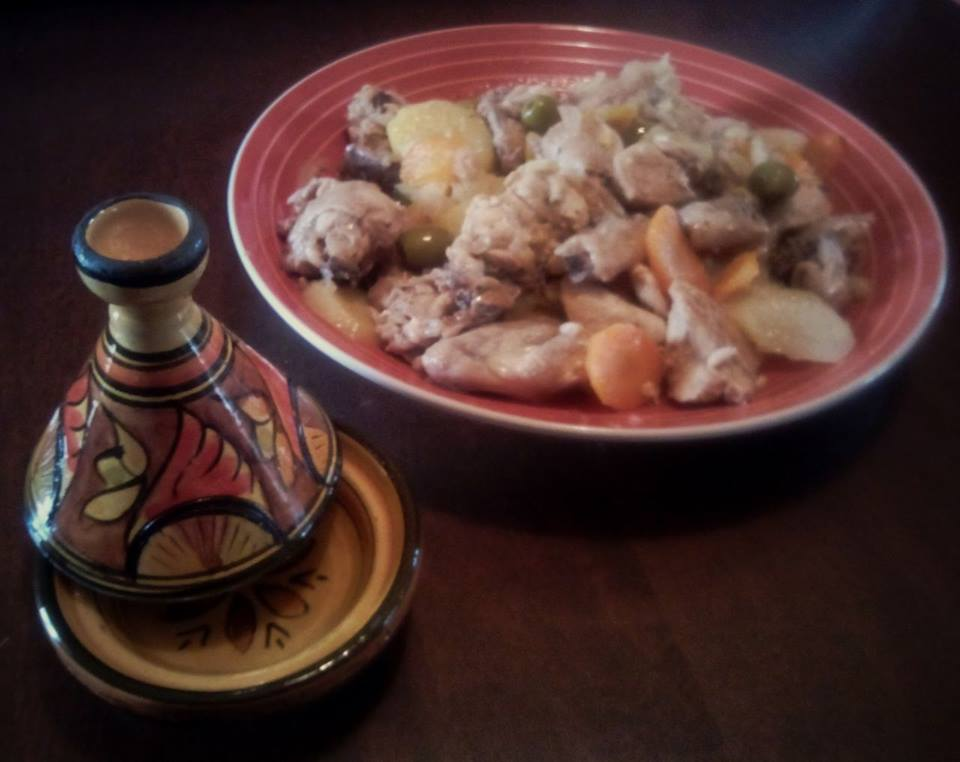 Fotografia della ricetta Tajine di pollo