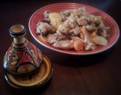 Immagine della ricetta del Tajine di pollo