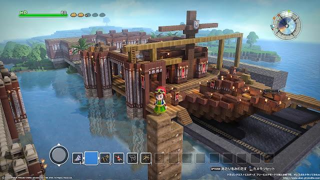 dragonquest builders 造船所作ってみた