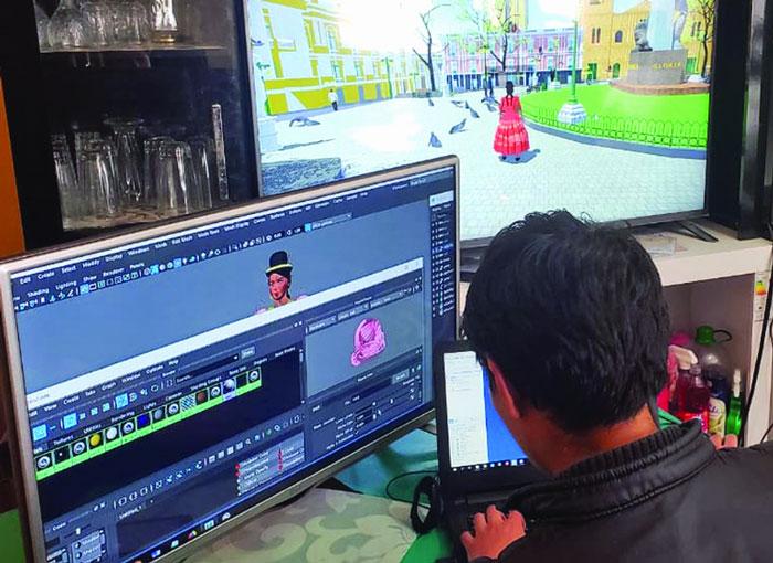 Videojuego Cholita paceña 3D llega a la conquista
