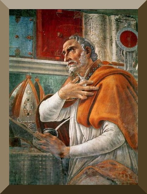 augustine of hippo and right thing essay Augustine on time and eternity  augustine become bishop of hippo (in north africa)  even if we stumbled right over it,.