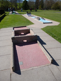 Mini Golf at Hope Park in Keswick