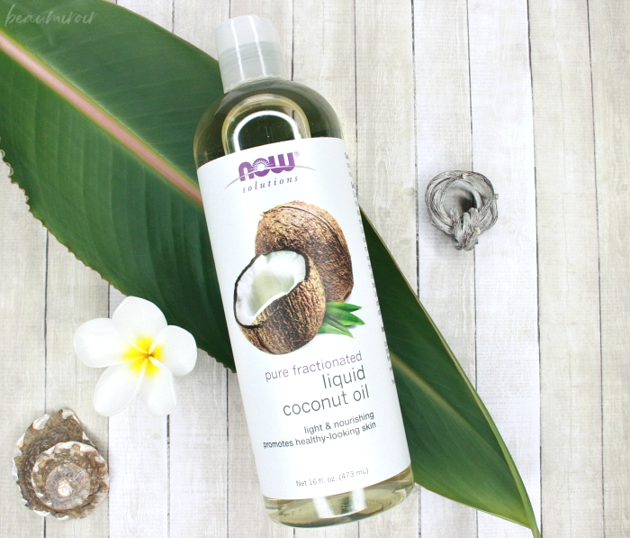 now solutions pure fractionated liquid coconut oil review