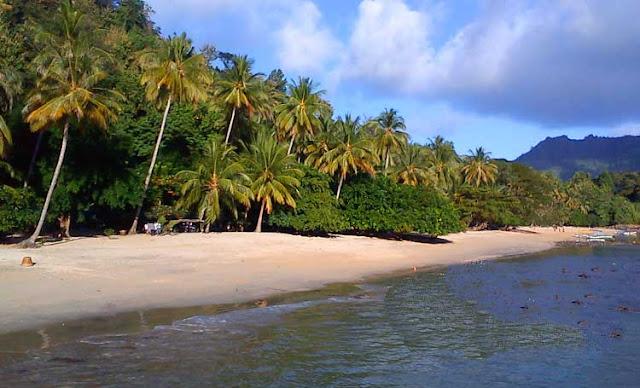 Foto Pantai Pasir Putih Bandar Lampung