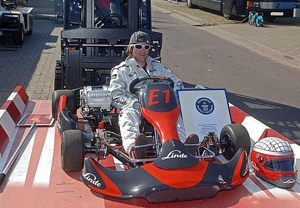The Guinness World Record For Fastest Electric Go Kart Acceleration Was Set On April 24 At Motorsport Arena In Oschersleben Germany