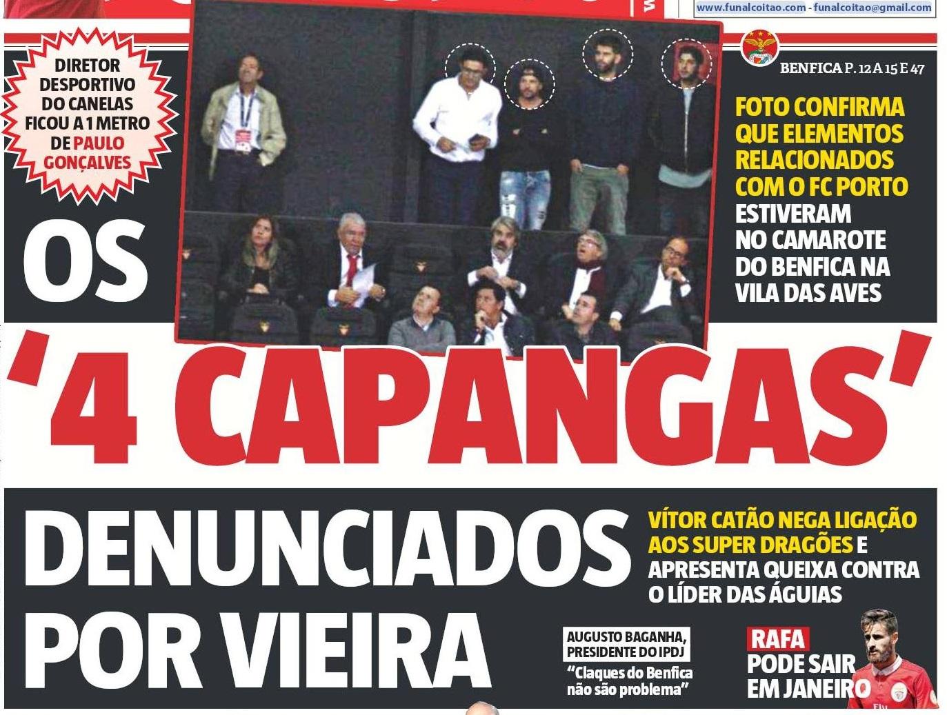 Foram muitas e boas as reacções à entrevista do presidente Vieira...O  brunlagas acordou mal disposto. Cuspiu na funcionária a dormir ao seu lado  (já não ... 70d99614bec0f
