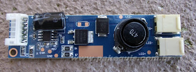 Placa do conversor LCD para LED