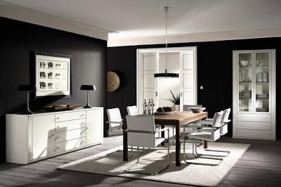Desain Ruang Makan Elegan Modern