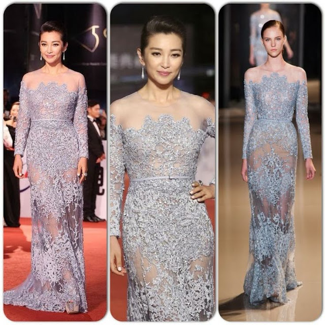 Li Bingbing in Elie Saab Couture – 50th Golden Horse Awards