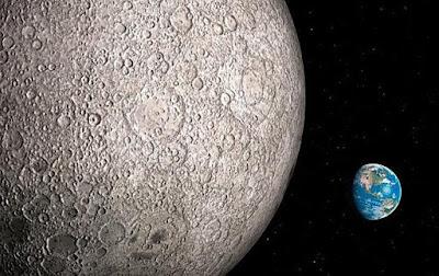Astronot Mendengar Musik Misterius di Sisi Jauh Bulan