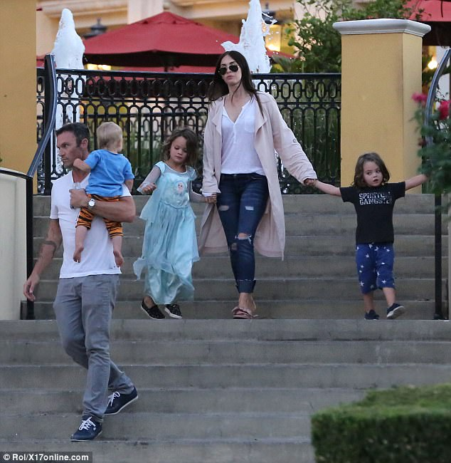 See how Megan Fox dressed her son again