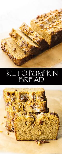 KETO PUMPKIN BREAD RECIPES