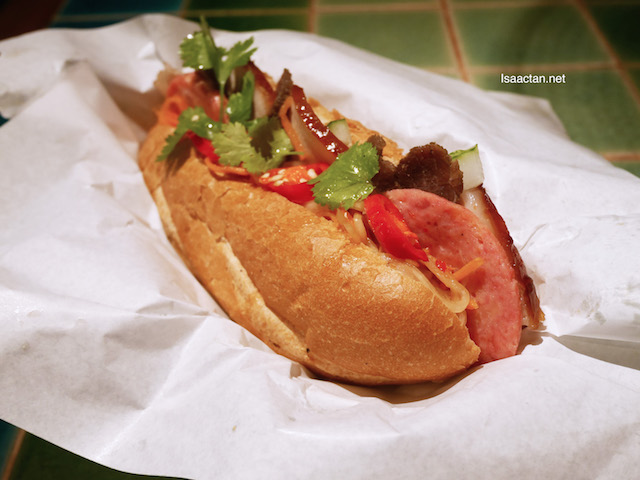 Banh Mi Combination: Pork Belly, Grilled Beef and Chicken Ham - RM11.90